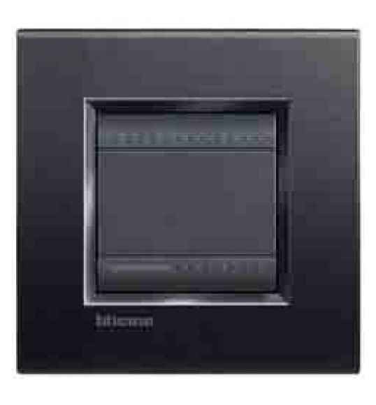 LNA4802AR Cover plate 2 M Anthracite Living Light Bticinio