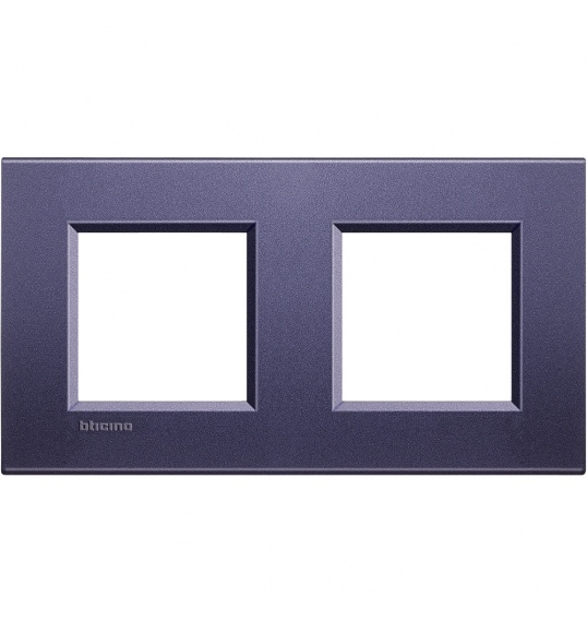 LNA4802M2CB Cover plate 2+2 M Club Living Light Bticinio