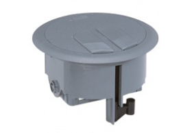 089644 Floor service outlet box