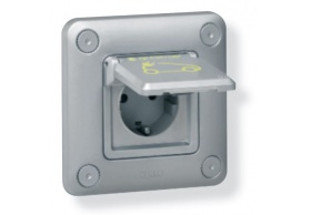 077856 IP 55 - IK 10 flush-mounting - metal socket
